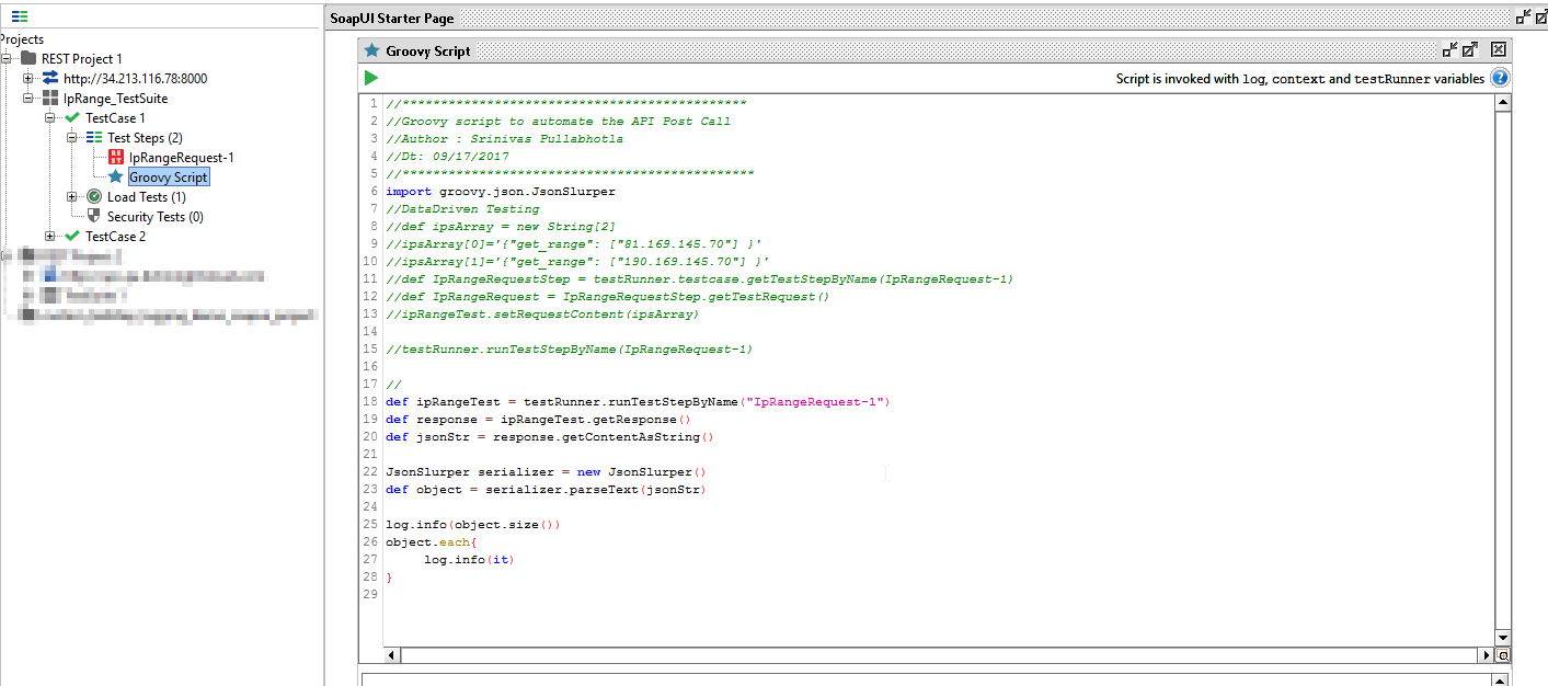 Solved: Data Driven Testing for SoapUI Free Version for RE