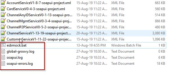 How do I config log4j when I started mockServiceRu