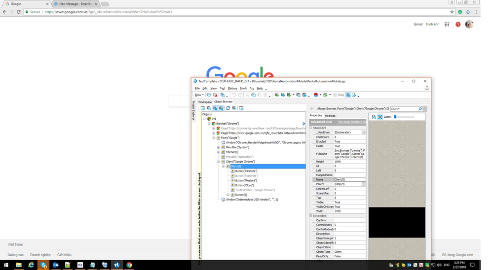 Reload button cannot be recognized when Chrome window is maximized