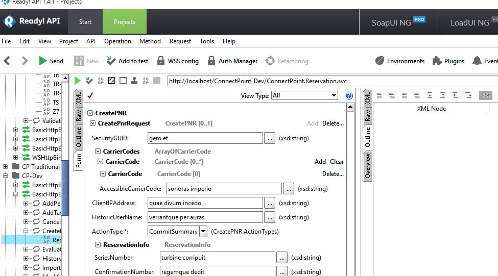 ReadyAPI needs tabbed interface on Projects view - SmartBear