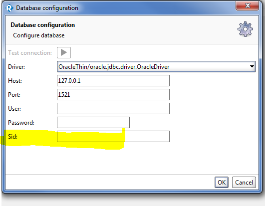 Oracle database Connection Configuration issue - SmartBear