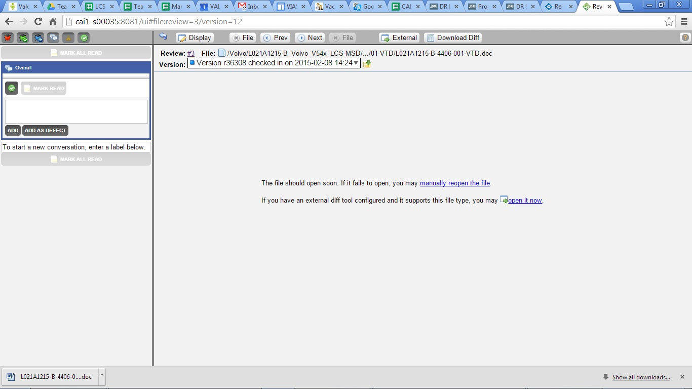 Solved: How can I review word doc on web GUI? - SmartBear