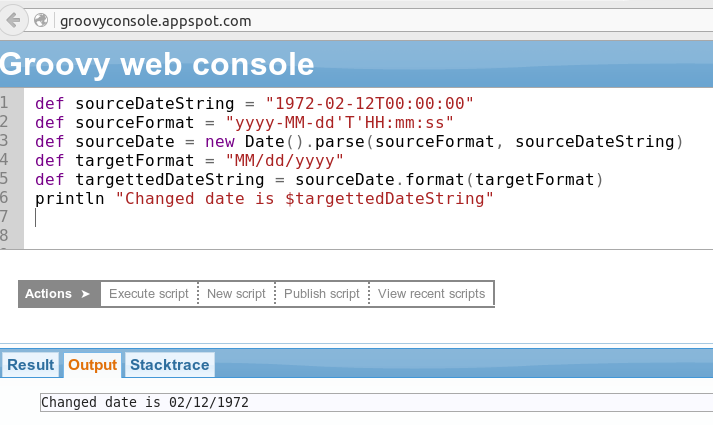 Solved: Parsing a date in groovy  - SmartBear Community