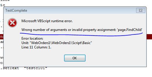 Settext using VBScript - SmartBear Community