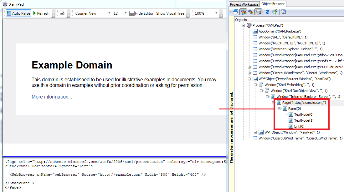 Solved: Embedded web browser in WPF unable to object spy - SmartBear