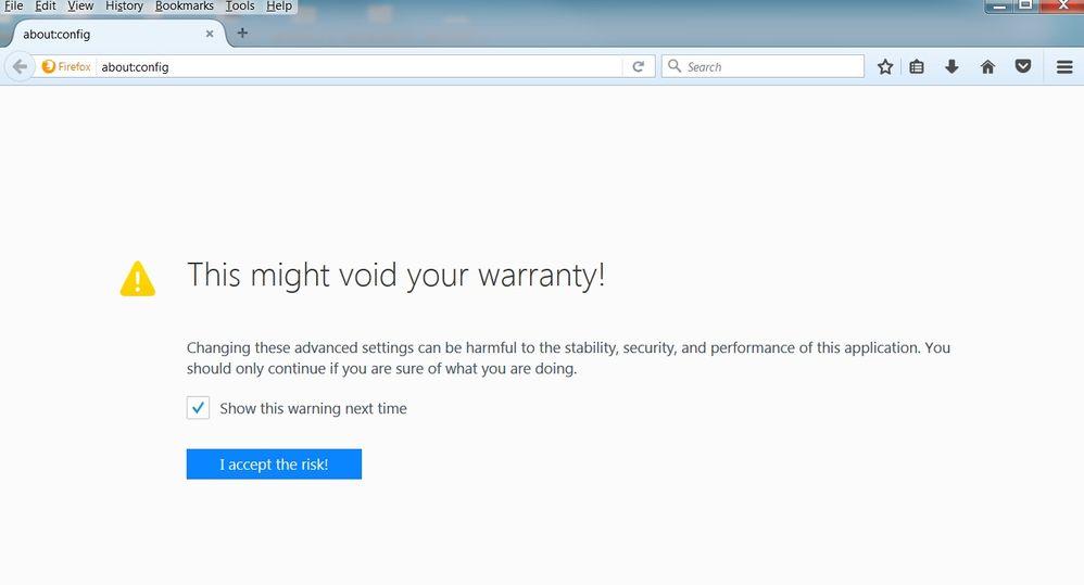 Override unsigned plug-in for Firefox DejaClick - SmartBear Community