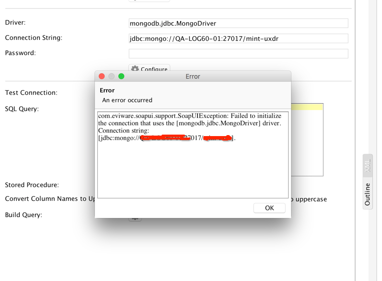 Can't register MongoDB jdbc driver to use with JDB