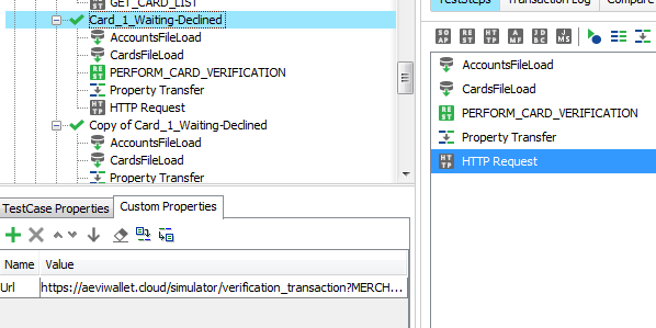 Solved: HTTP Request test step - dynamic url update from p