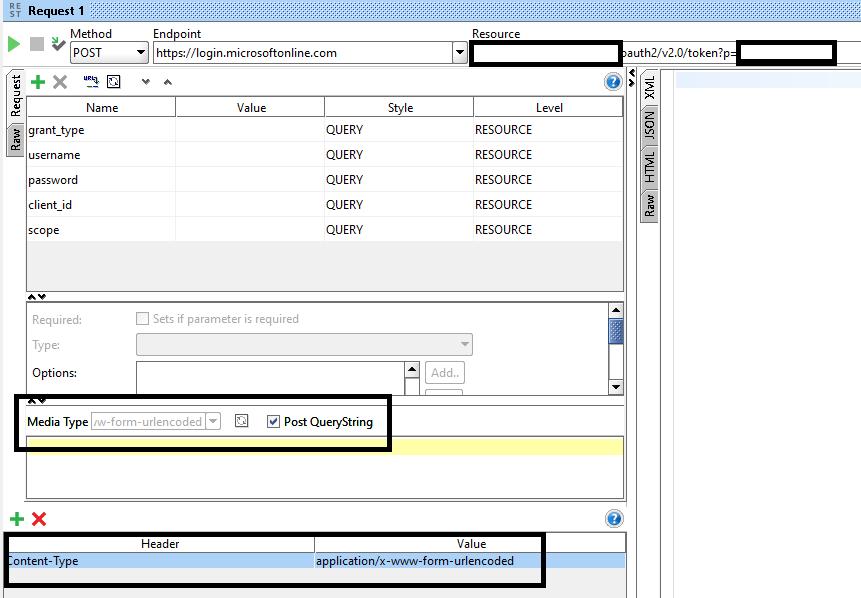 SoapUI 5 4 0 Client Credentials Grant - Get Access