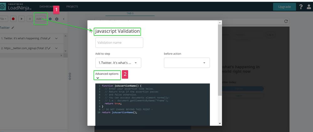 1) Contunue Waiting Javascript Validation.png